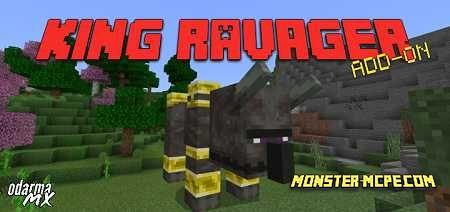 King Ravager Boss Add-on 1.16/1.15+
