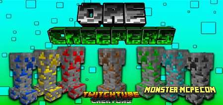 OreCreepers Add-on 1.16/1.15+