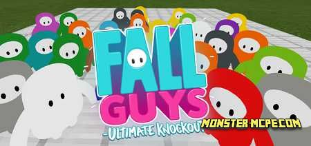 Fall Guys in Minecraft Add-on 1.16/1.15+
