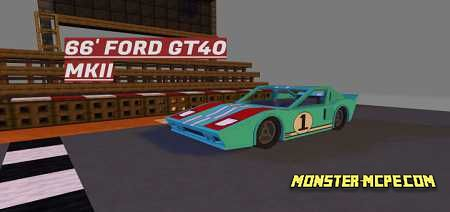66′ Ford GT40 MKII Add-on 1.16/1.15+