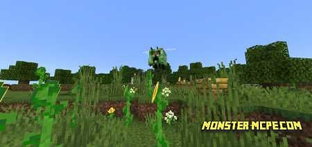 Bees Like Creepers Texture Pack