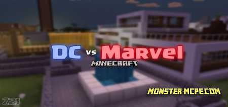 DC vs Marvel PVP Map