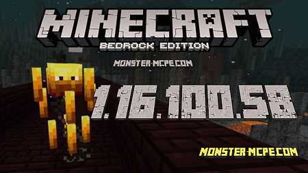 Minecraft PE 1.16.100.58 for Android