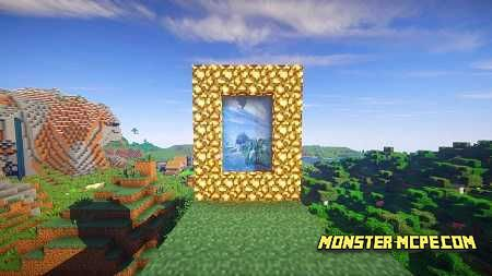 Minecraft integrates the Aether engine