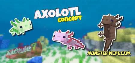 Axolotls Add-on