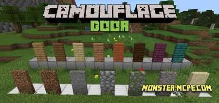 Camouflage Door Add-on