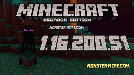 Minecraft PE 1.16.200.51 for Android