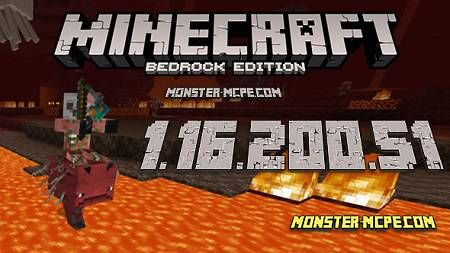 Minecraft PE 1.16.200.51 BETA for Android