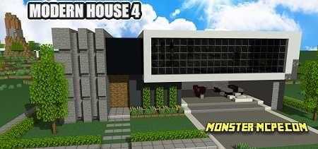 Modern House 4 Map