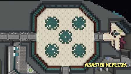 Among Us Skeld Minecraft Among Us Craft Map Mcpe Play Com