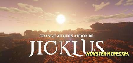Jicklus Orange Autumn Texture Pack