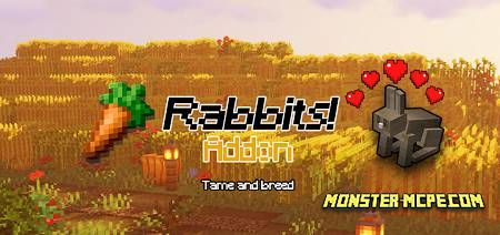 Rabbits! Add-on 1.16.40/1.16+