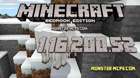 Minecraft PE 1.16.200.52 for Android