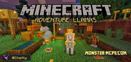 Adventure Llamas Add-on 1.16.40/1.16+