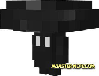 Black Twisted Mushroom