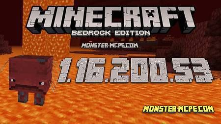 Minecraft PE 1.16.200.53 for Android
