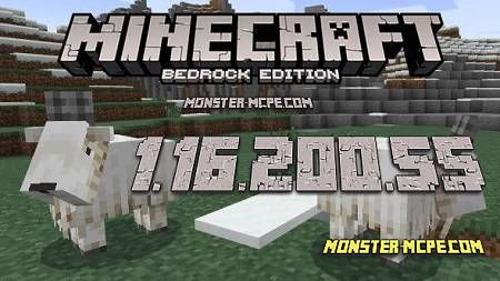 Minecraft PE 1.16.200.55 for Android
