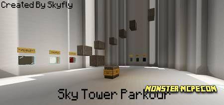 Sky Tower Parkour Map