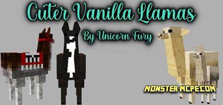 Cuter Vanilla Llamas Texture Pack