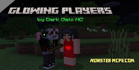 Glowing Players Add-on 1.16+
