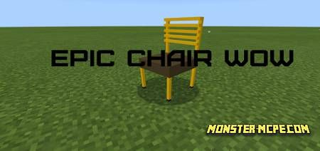 The Most Epic Chair Ever Add-on 1.16+