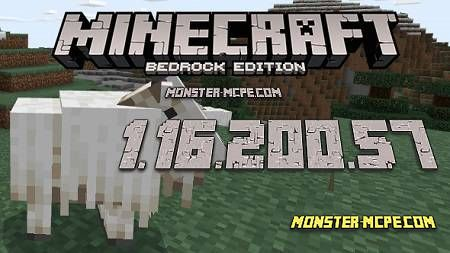 Minecraft PE 1.16.200.57 for Android