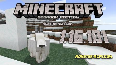 Minecraft PE 1.16.101 for Android