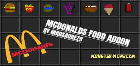 McDonalds Food Add-on 1.16+