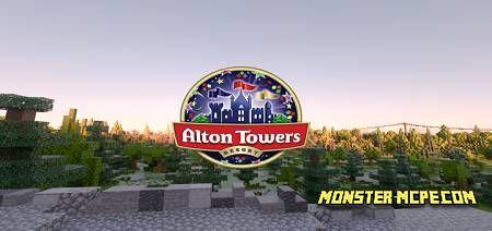 Alton Towers PE Map