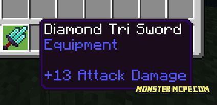 Triple sword craft