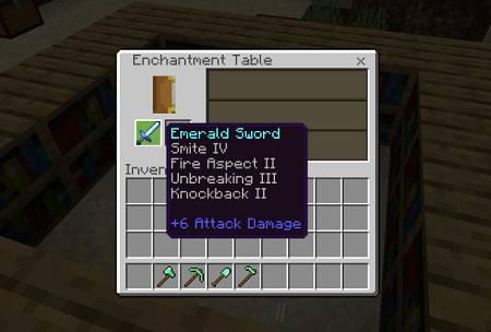 enchanted emerald sword