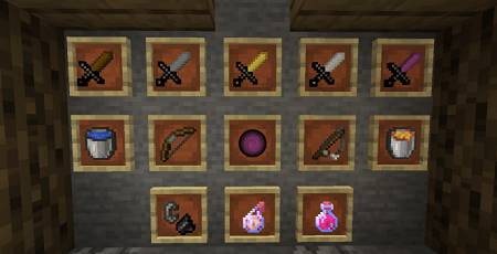 weapon items