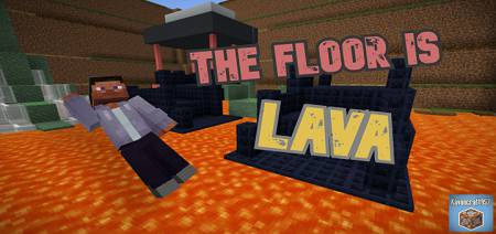 The Floor is LAVA Map