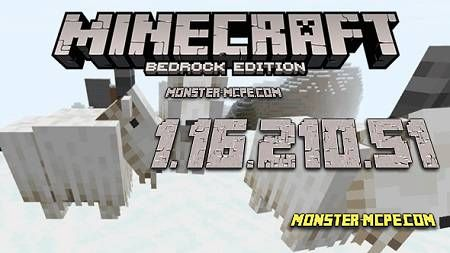 Minecraft PE 1.16.210.51 for Android