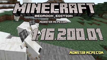 Minecraft PE 1.16.201.01 for Android