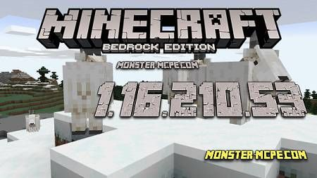 Minecraft PE 1.16.210.53 for Android