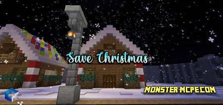 Save Christmas Map
