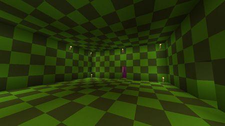 hidden exit in a room
