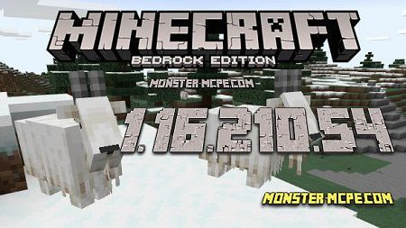 Minecraft PE 1.16.210.54 for Android