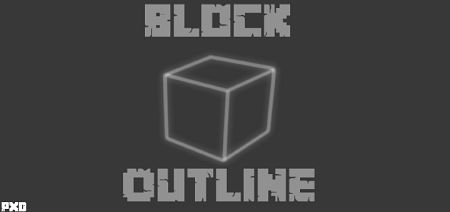 White Block Outline Texture Pack