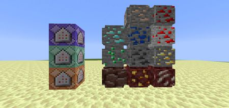 X-ray and Cursed Ores Add-on 1.16+