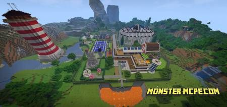 Mega Redstone House Map