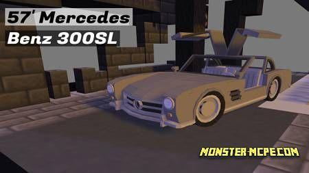 Mercedes Benz 300SL Add-on 1.16+