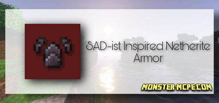 SAD-ist Inspired Netherite Armor Texture Pack