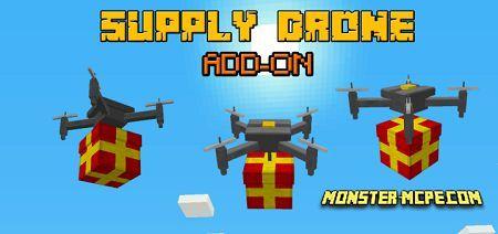 Supply Drone Add-on