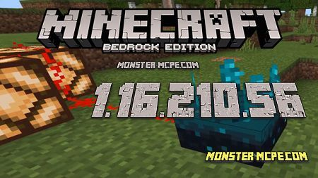 Minecraft PE 1.16.210.56 for Android