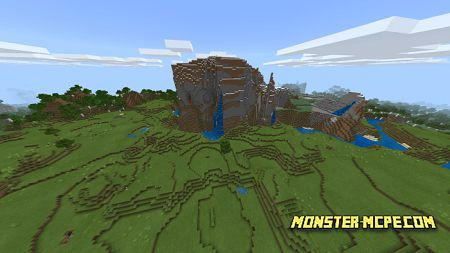 Village And Many Biomes Near (4)