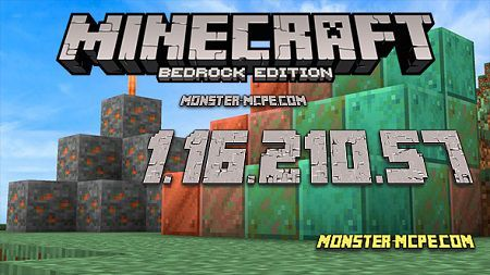Minecraft PE 1.16.210.57 for Android