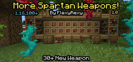 More Spartan Weapons Add-on 1.16+