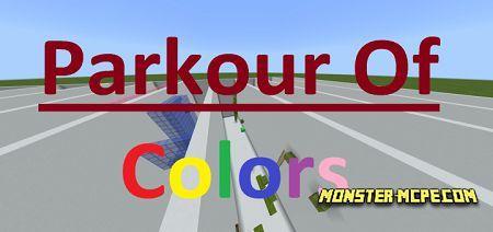 Parkour Of Colors Map